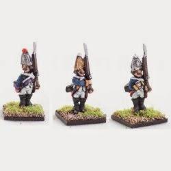 AWG1 Hessian Grenadiers, standing.
