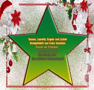 Gedicht Weihnachtsbilder frohe Weihnachten