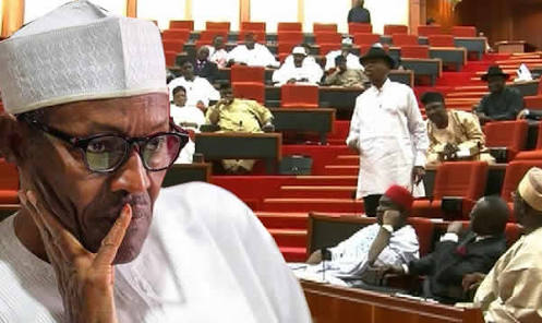 President Buhari  Impeachment Plot By Senate Failed