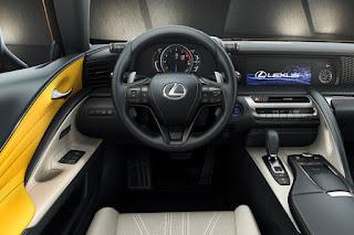 Lexus LC 500h Limited Edition (2018) Dashboard
