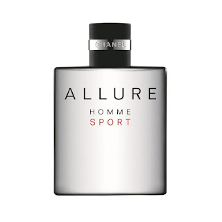 Frasco do Perfume Chanel Allure Homme Sport EDT