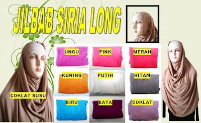 gambar dan model jilbab siria long