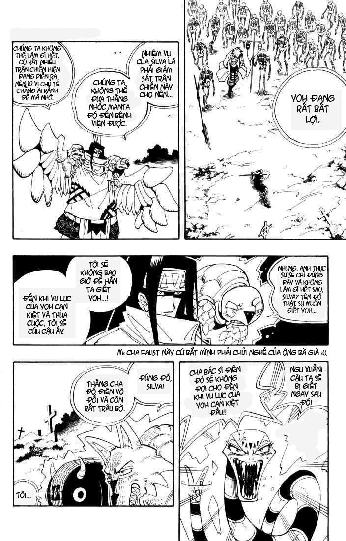 Shaman King [Vua pháp thuật] chap 43 trang 5