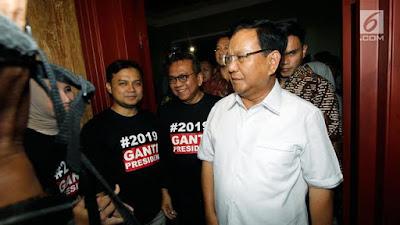 Ungguli Presiden Jokowi di Survei INES, Ini Respons Prabowo - Info Presiden Jokowi Dan Pemerintah