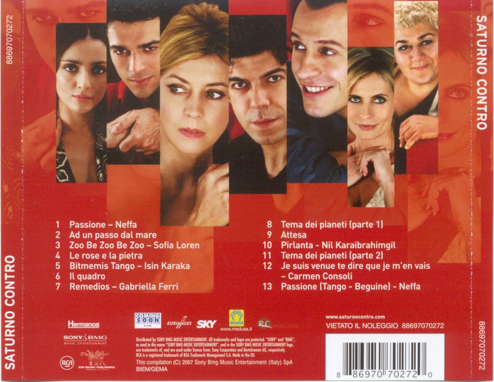 byKush'un Müzik Arch'ivi: Various Artists (2007) Saturno Contro ...