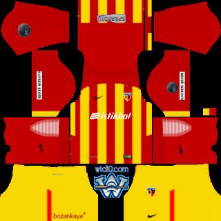 Kayserispor Dream League 2018/17 Yeni Sezon Forma Kits ve Logo