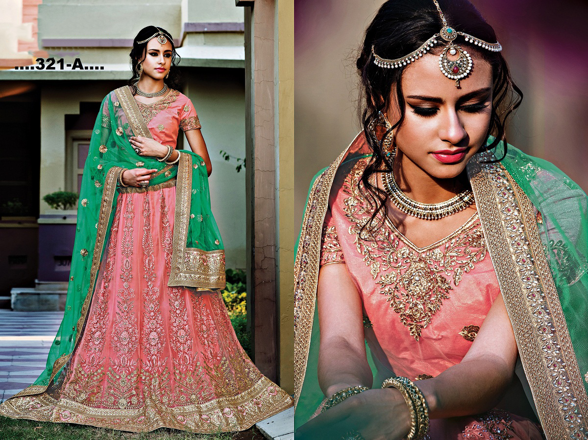 Princess 2 – Heavy New Designer Embroidery Designer Lehenga Choli