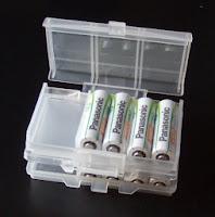 携帯電池ケース