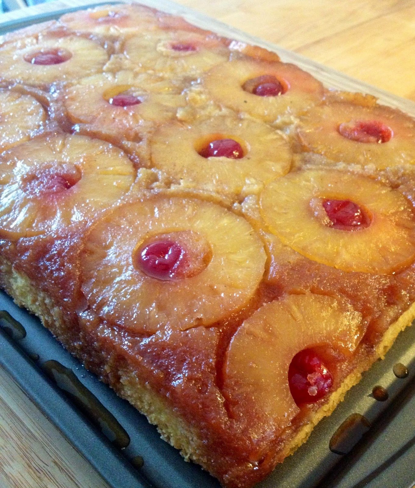 Stella S Meza Pineapple Upside Down Cake