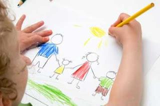 Menggambar dengan pensil sebagai teknik menggambar untuk anak usia dini