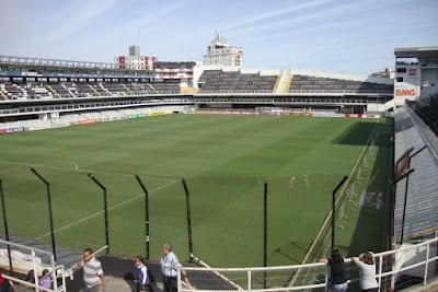 Estádio Vila Belmiro -  Santos - SP