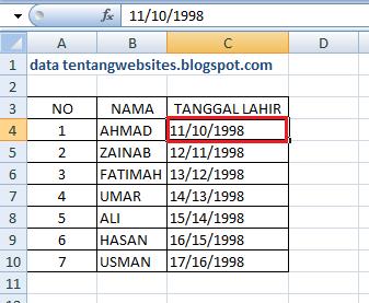 Cara mengatasi format tanggal di excel tidak bisa diubah