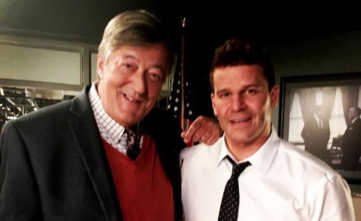 Bones - Season 12 - Stephen Fry Returning