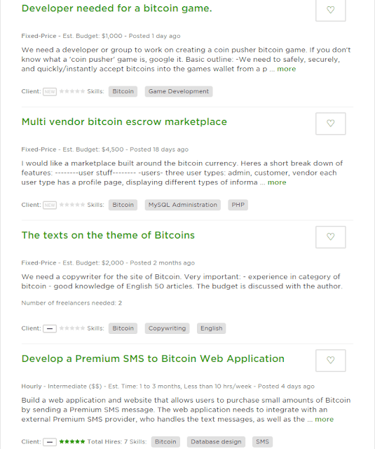 Jobs listed on upwork™ related to Bitcoin