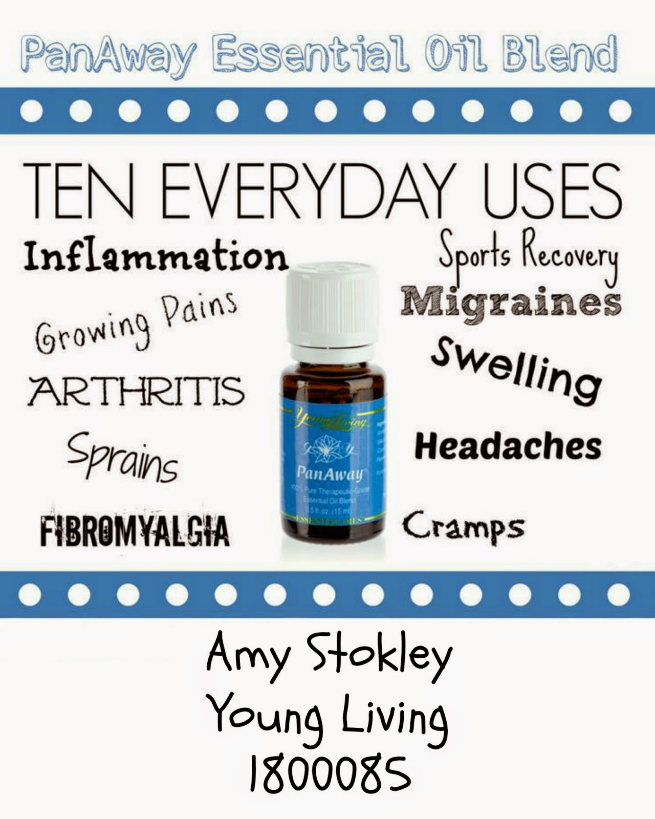 Drops of Love: Pan Away Essential Oil by Young Living