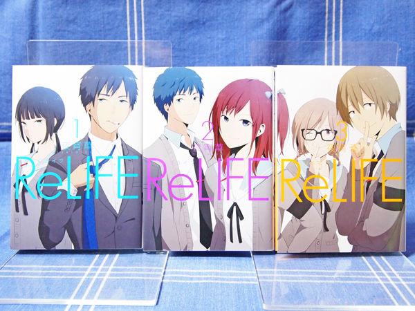 El manga ReLIFE finalizará el 9 de marzo de 2018