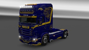 Scania RJL Sweden Storm skin by Dragan007