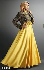 Contoh Gaun Pesta Muslim Dengan Model Masa Kini