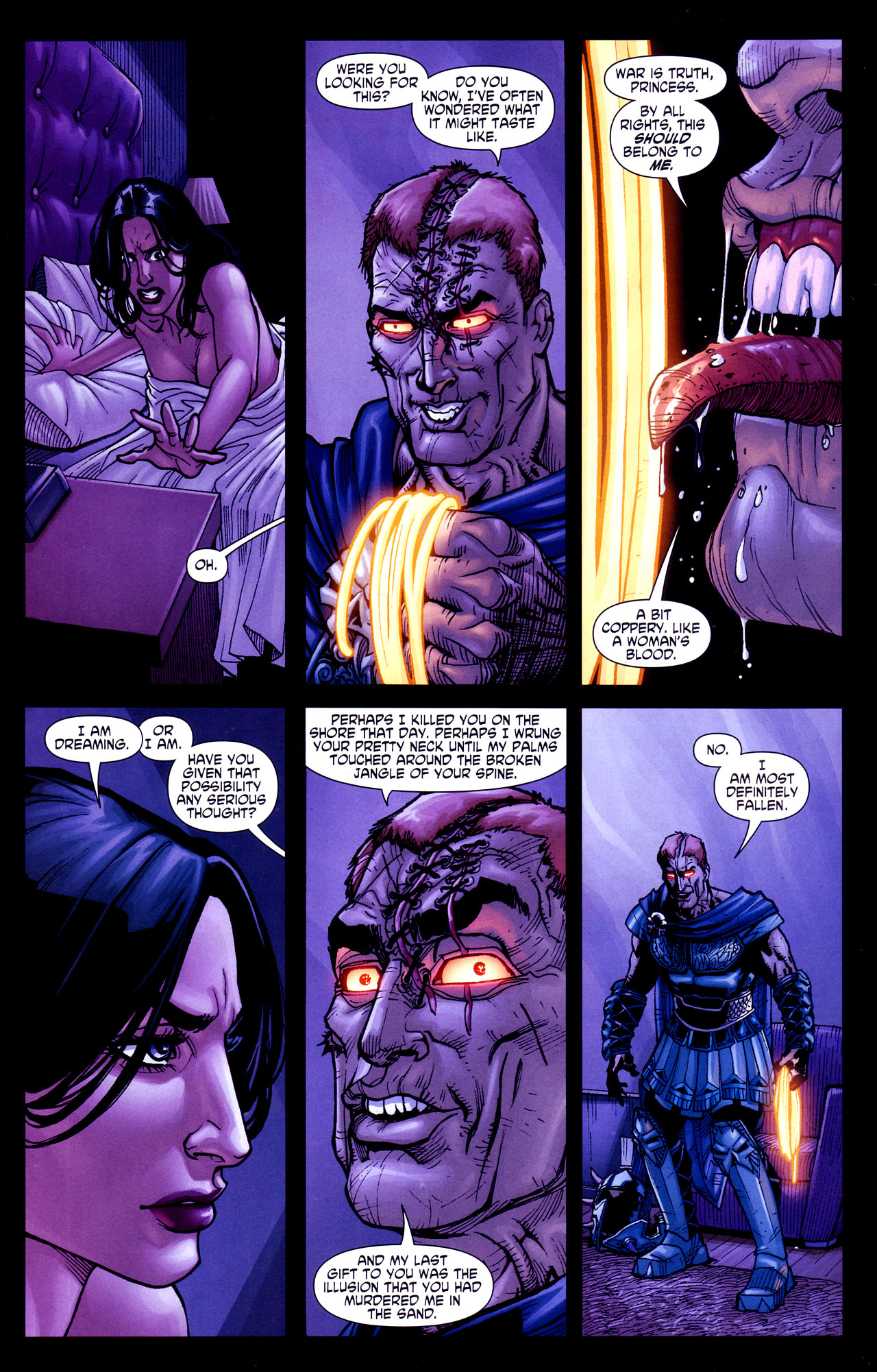 Read online Wonder Woman (2006) comic -  Issue #37 - 4