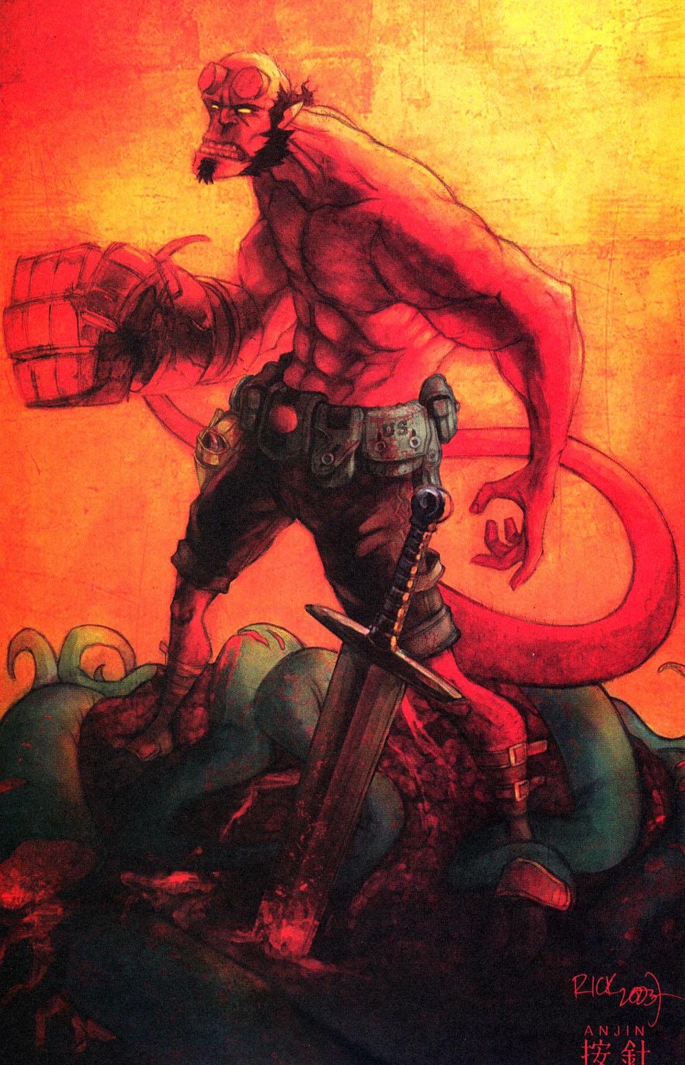 Read online Hellboy: Weird Tales comic -  Issue #4 - 21
