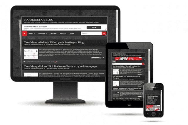 Membuat Blog Menjadi Responsive Mobile Friendly - Tutorial Blogger