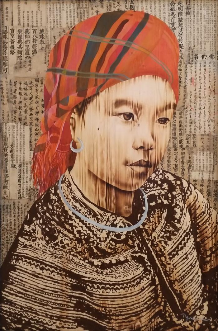 Вьетнамский художник. Ngo Van Sac
