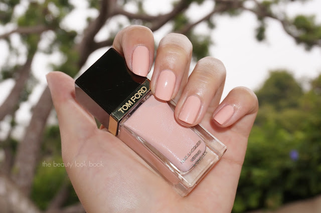 The Beauty Look Book Tom Ford Show Me The Pink Nail Lacquer Fall 2013