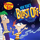 Phineas y Ferb New Year Blast Off