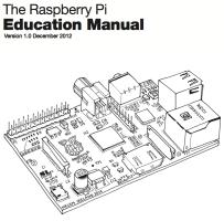 Mes Découvertes: RaspBerry Pi : Education manuel