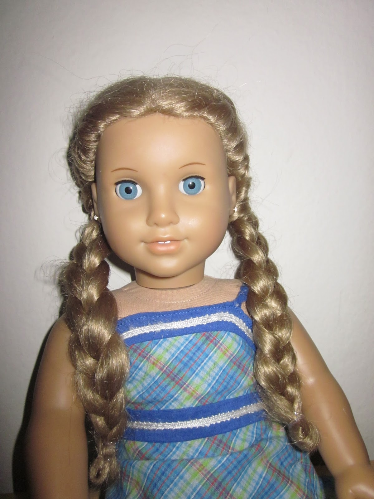 Awesome Sew Crafty Mommy American Girl Hair Styles Short Hairstyles Gunalazisus
