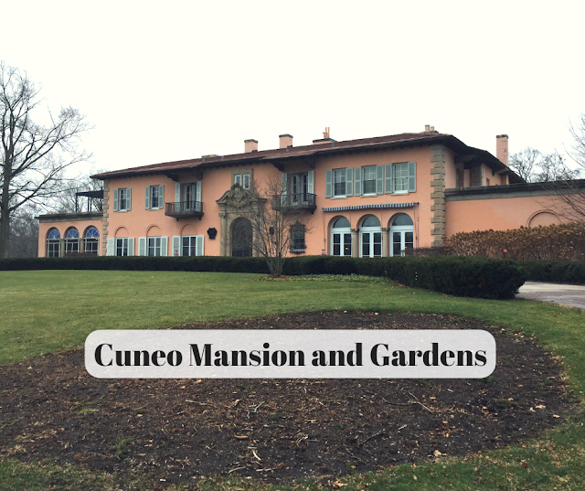 Visiting Cuneo Mansion and Gardens in Vernon Hills, Illinois