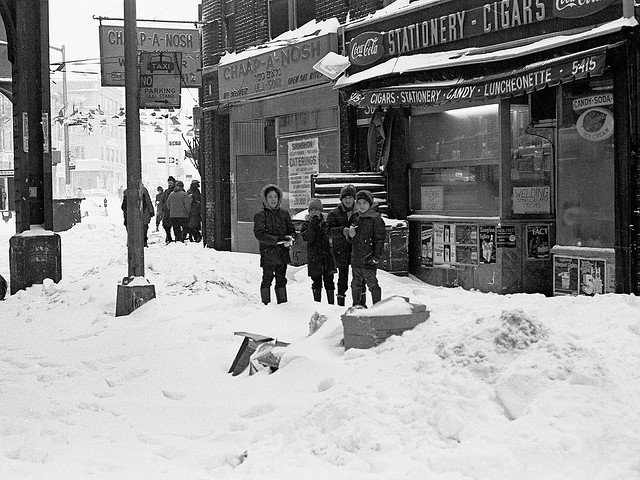Blizzard Long Island February