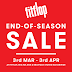 3 Mar - 3 Apr 2016 Fitflop Sale