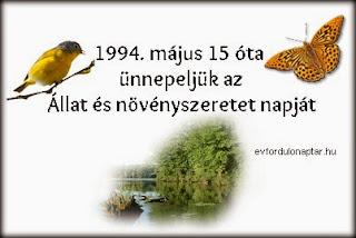 Állat és növényszeretet napja Magyarországon
