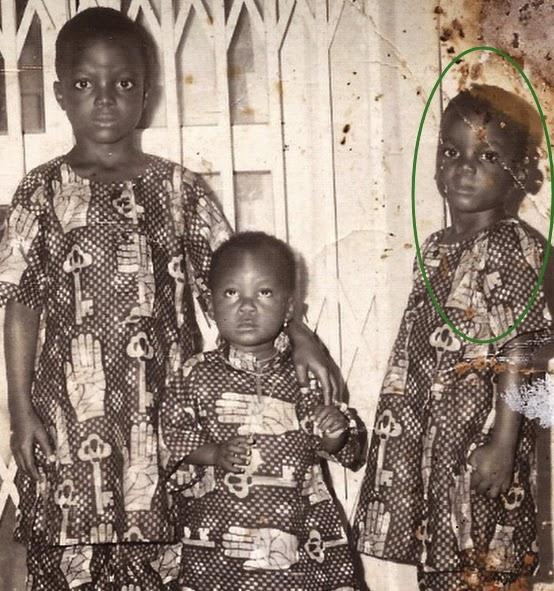 kunle afolayan childhood photos
