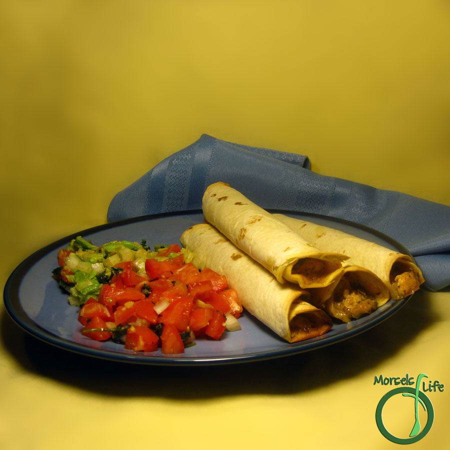 Morsels of Life - Taquitos - These flavorful and cheesy taquitos make an amazing on the go snack or meal. Almost like a taco burrito!