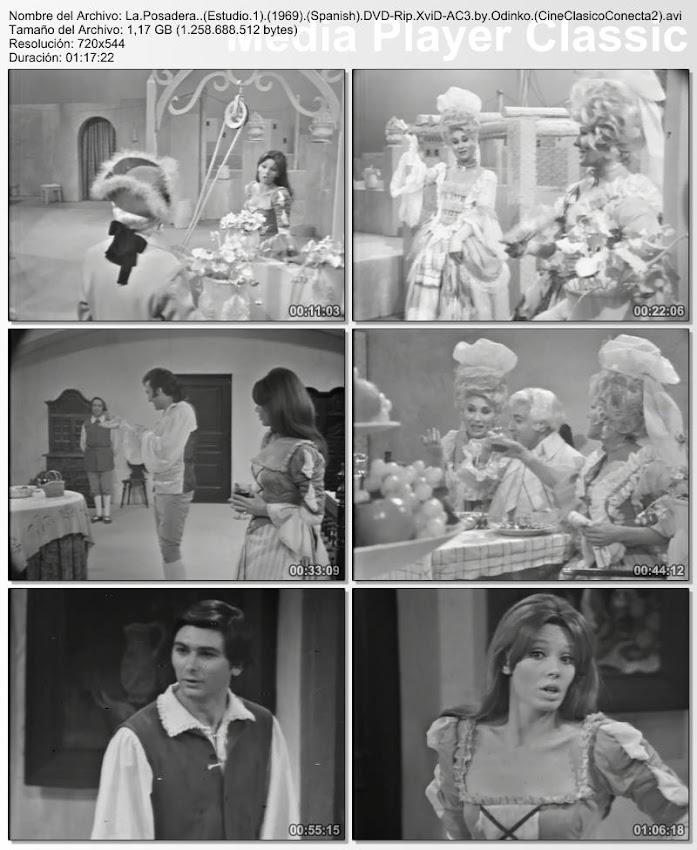 La posadera (Gran teatro clásico Estudio 1) (1969) | Secuencias de la obra de teatro