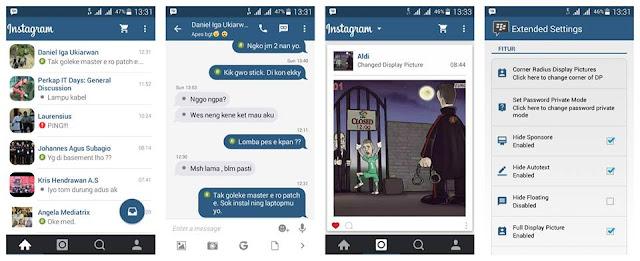 BBM MOD Instagram BBM 2.9.0.51 Apk Terbaru Gratis