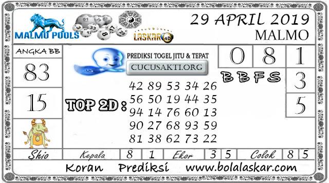 Prediksi Togel MALMO LASKAR4D 29 APRIL 2019