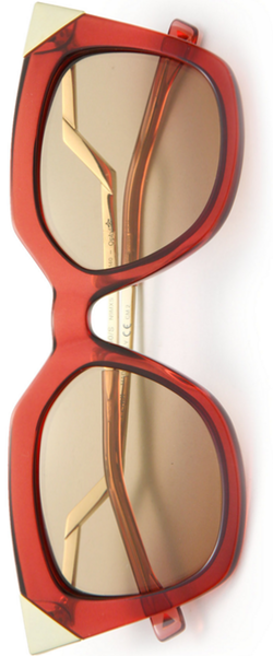 Fendi Zig-Zag 52MM Cat's-Eye Sunglasses