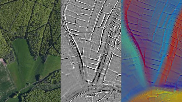 LIDAR reveals pre-Roman 'farming collective' in Sussex