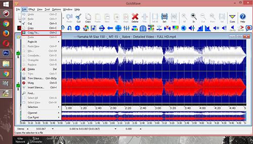 Cara Mengubah File Video Menjadi File MP3 Dengan Gold Wave 2