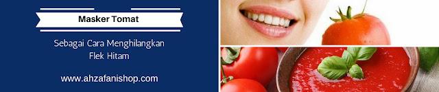 Masker Tomat sebagai cara mengatasi flek hitam secara alami