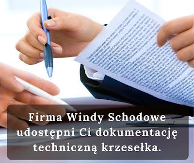 Firma Windy Schodowe udostępni Ci dokumentację techniczną.