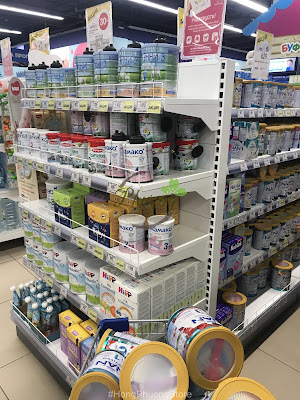 tOrder sữa NAN Nga các loại chính hãng xách tay từ Nga [Clip lấy hàng cho khách]