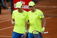 Marcus Daniell e Marcelo Demoliner No Brasil Open