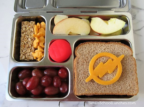 The Flash Bento Lunch - Justice League