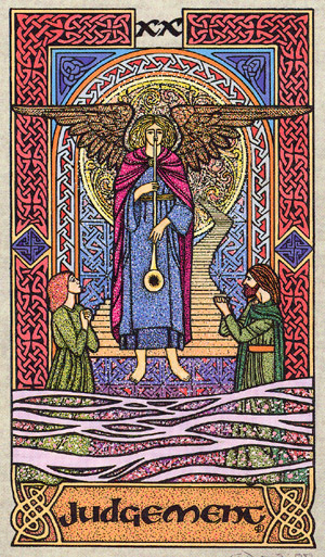 Celtic Tarot: Tarot Notes: Cards And Quotes: Judgement
