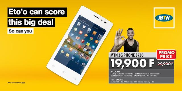 SmartPhones Mtn en promotion