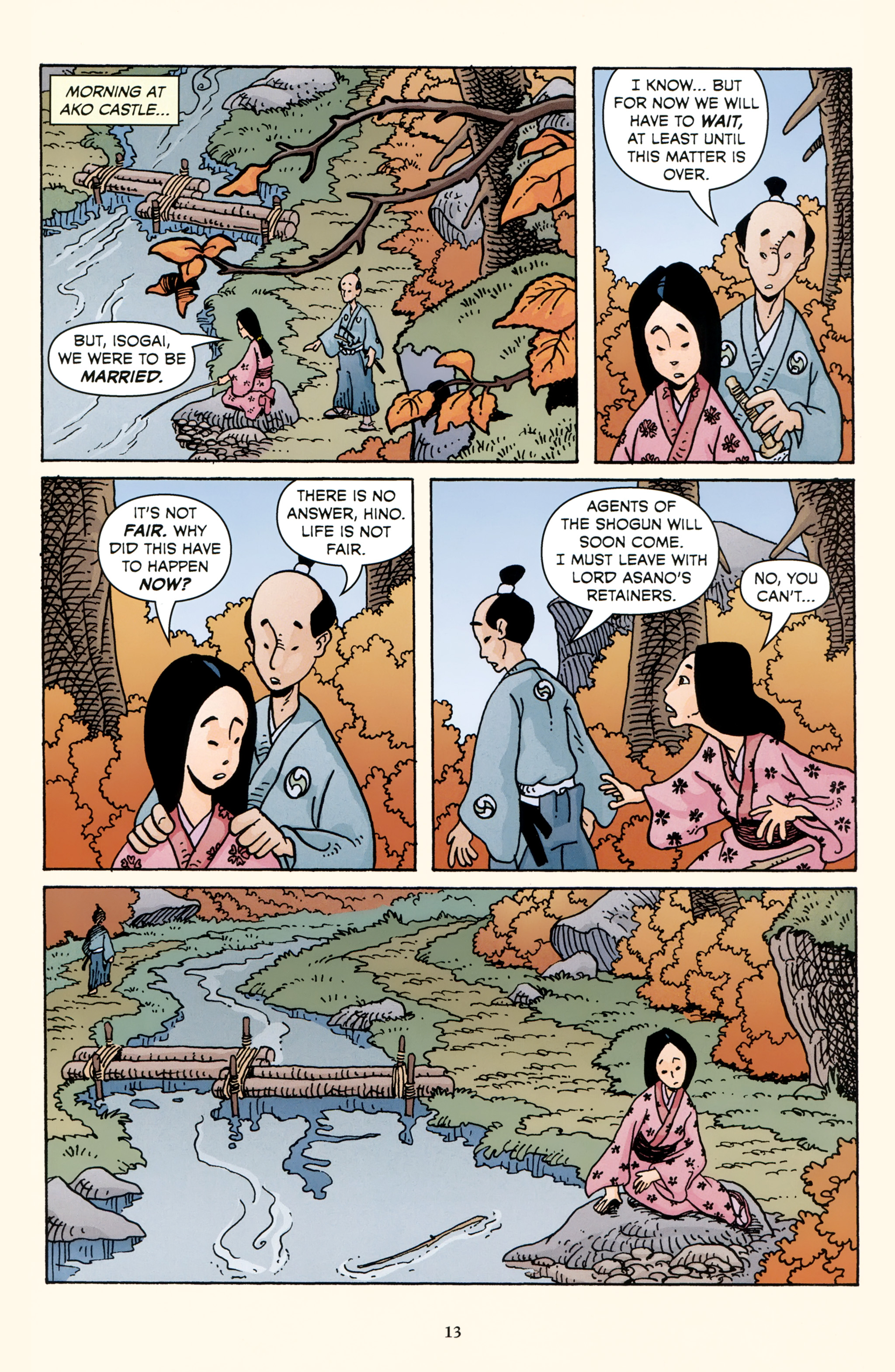 Read online 47 Ronin comic -  Issue #3 - 15